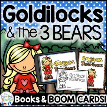 Goldilocks and the Three Bears Emergent Reader