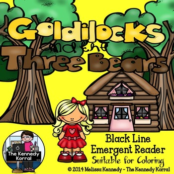 Goldilocks and the Three Bears {20 Page Emergent Reader}