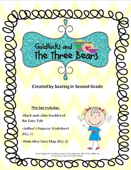 Goldilocks and the Three Bears Booklet and Comprehension Set