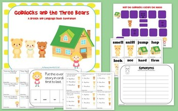 Goldilocks and the Three Bears: Speech and Language Book C