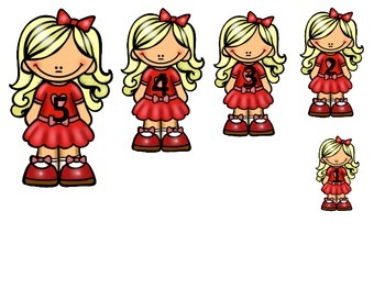 Goldilocks and the Three Bears themed Size Sequence presch