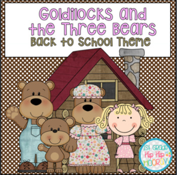 Activities and Crafts with Goldilocks and the Three Bears
