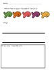 Goldfish Graphing and Writing (English and Spanish)