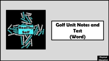 Golf Unit Notes and Test
