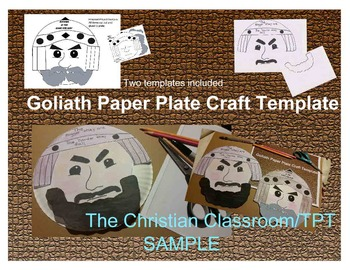 Goliath The Giant Nothing is too Giant for God Paper Craft