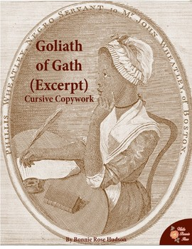 Goliath of Gath by Phillis Wheatley (Excerpt)-Cursive Copywork