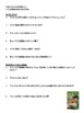 Gone Crazy in Alabama Comprehension Questions, Vocabulary,