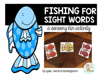 Sensory Bin Center Activities - Gone Fishing