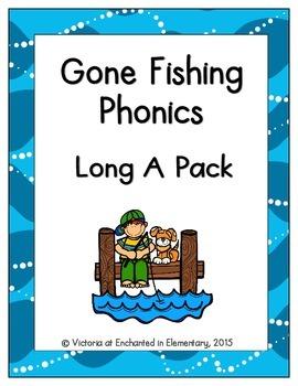 Gone Fishing Phonics: Long A Pack