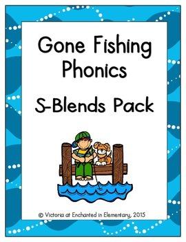 Gone Fishing Phonics: S-Blends Pack