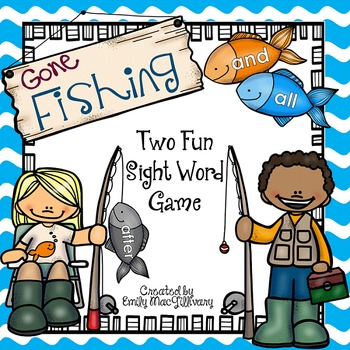 Gone Fishing: Two Fun High Frequency Word Games