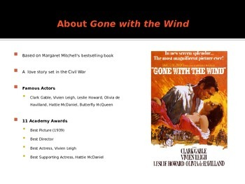 Gone with the Wind Film Analysis