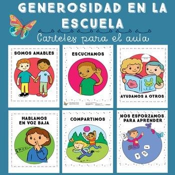 Good Behavior Posters in Spanish