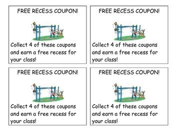 Good Behavior and Reward Coupons