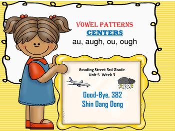 Good Bye 382 Shin Dang Dong   au, augh, ou, ough   CENTERS
