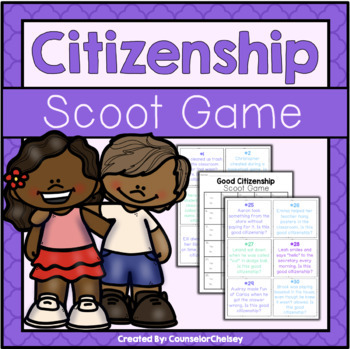 Good Citizenship Scoot Game