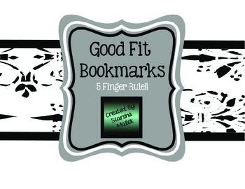 Good Fit Bookmarks (S.Malek Freebie)