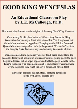 Good King Wenceslas (A Christmas Play)