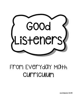 Good Listeners Posters