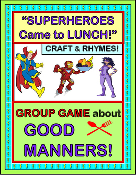"""Good Manners Group Game!"" -- Active Game, Rhymes, and Cra"