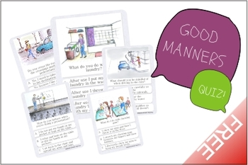 Good Manners Quiz 1/2