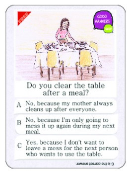 Good Manners Quiz 3 Free