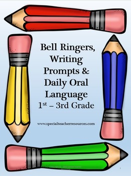 Elementary Langauge Arts Bell Ringers Packet Vol 1