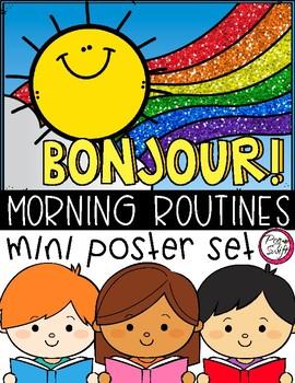 Good Morning Routines ~ Poster Set