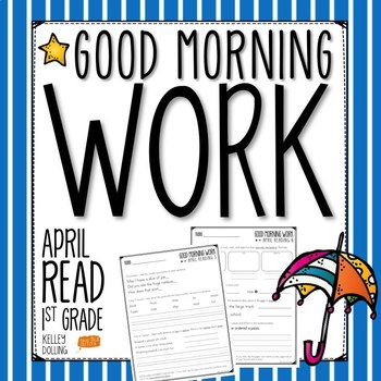 Good Morning Work - Reading - April (1st Grade)