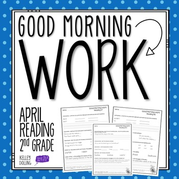 2nd Grade Morning Work (Reading - April)