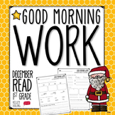 Good Morning Work - Reading - December (1st Grade)