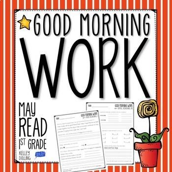 Good Morning Work - Reading - May (1st Grade)