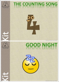 Good Night and The Counting Song kits