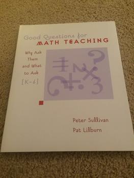 Good Questions for Math Teaching