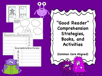 """Good Reader"" Comprehension Strategies, Book Lists, and Ac"