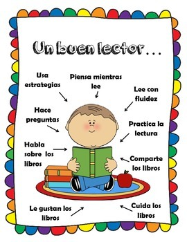 Good Reader Strategies (English and Spanish) - Un buen lector
