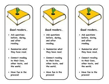 Good Readers Bookmark