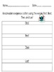 Good Readers Comprehension Skills Graphic Organizers and A