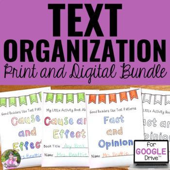 Text Organization Mini Books