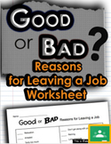 Good or Bad Reasons for Leaving a Job - Career Readiness W
