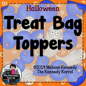 Goodie Bag Toppers {Halloween}