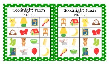Goodnight Moon Bingo Game