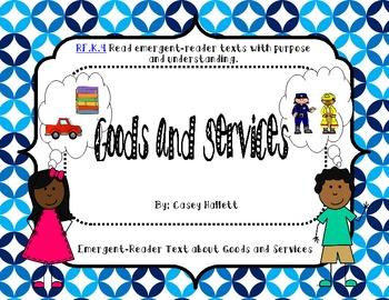 Goods & Services {Emergent Reader Book}