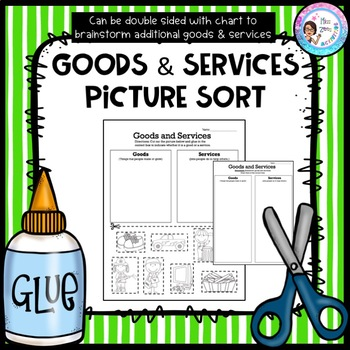 Goods And Services Worksheet Photos - pigmu