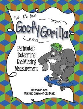 Goofy Gorilla Card Game: Perimeter - Determine the Missing