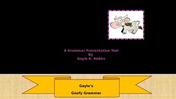 Goofy Grammar Unit 1 What are Prepositions, Conjunctions a