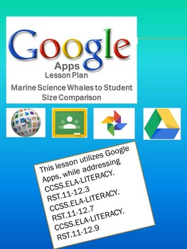 Google Apps Whale to Student Size Comparison-Common Core S