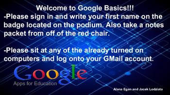 Google Basics Professional Development