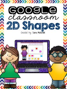 Google Classroom 2D shapes