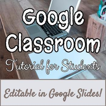 Google Classroom - Getting Started FOR STUDENTS - FREE LIF